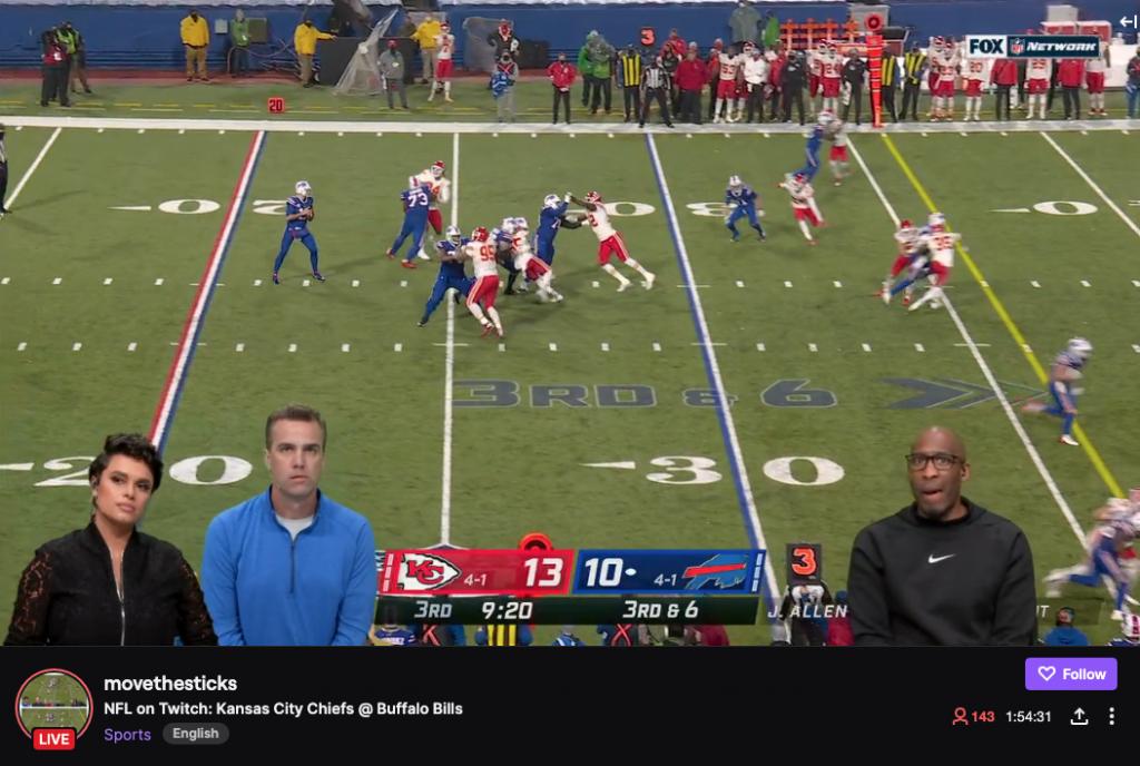 NFL on Twitch